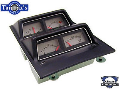68-69 Camaro Console Gauges Temp Batt Oil w/o low Fuel
