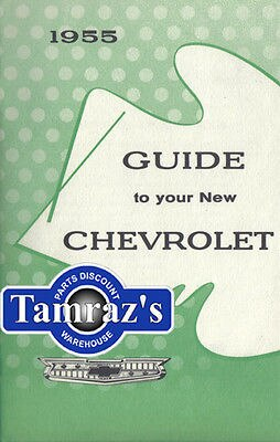 1955 55 Chevrolet Owners Manual New