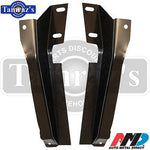 70-71 Challenger Rear Valance Support Bracket Brackets Pair - AMD