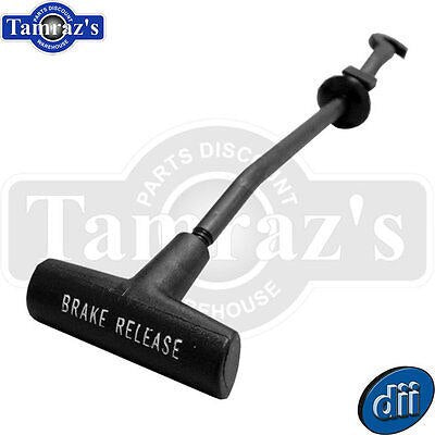 70-2 Chevrolet A-Body Dash Board Parking Brake Release Pull Handle & Shaft