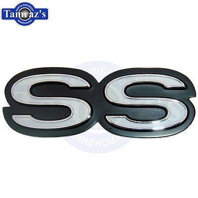 1969 Camaro SS Super Sport Rear Panel Emblem New