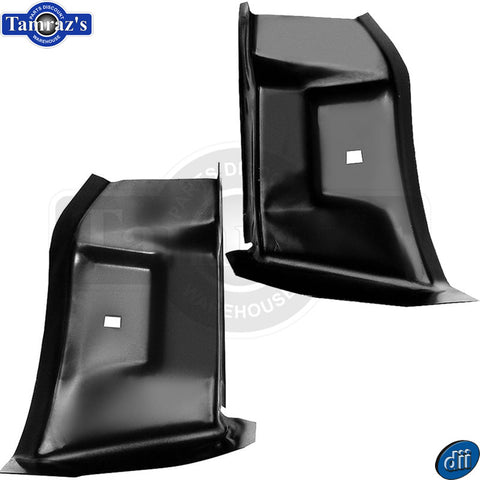 71-73 Mustang Lower Quarter Panel Extension at Trunk Drop Off Filler - PAIR