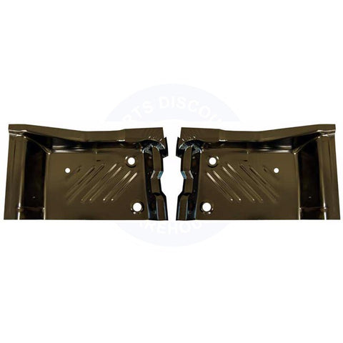 71-74 Barracuda Rear Floor Pan Footwell Area Pair - AMD