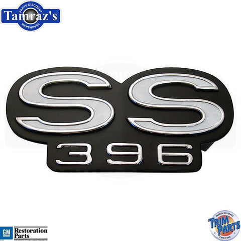 "1969 Chevelle Malibu /"" SS 396 /"" Rear Body Panel Emblem USA MADE"