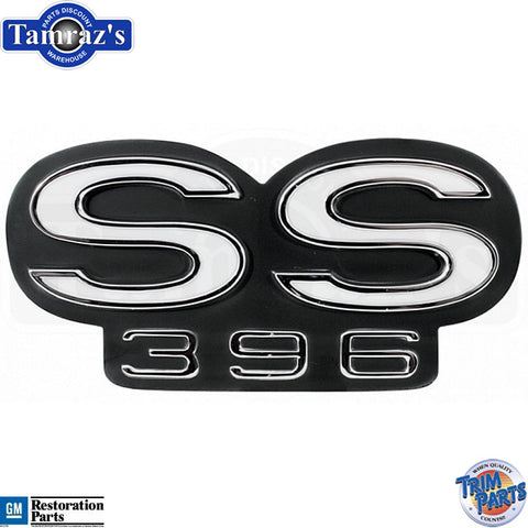 """66 Chevelle /"""" SS 396 /"""" Grille Emblem Made in USA Trim Parts"""