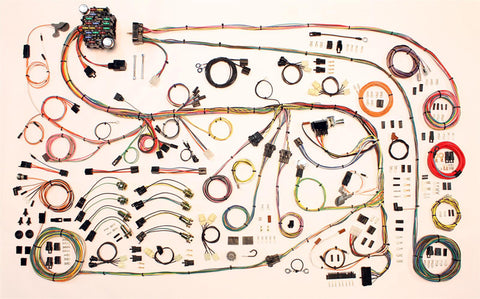 67-75 Mopar A Body Classic Update Series Complete Body Interior Wiring Harness