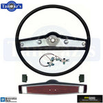 1969 Camaro Standard Steering Wheel Kit 2 Spoke Cherry OER