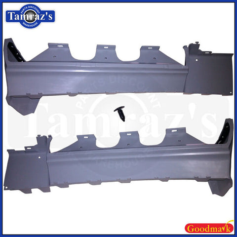81-87 Regal Grand National Rear OE Rubber Style Bumper Fillers - Quality Fit!