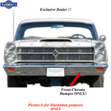 Front Bumper - 66-67 Ford Fairlane