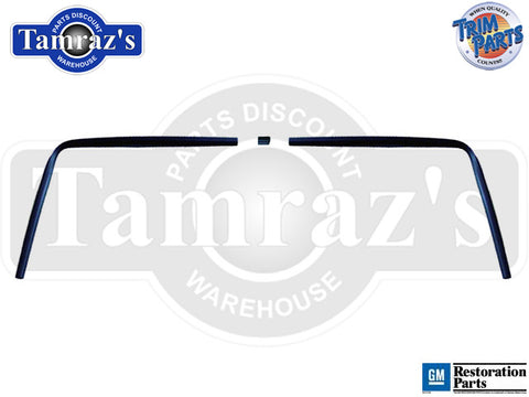 67-69 F-Body Interior Rear Window Windlace Trim 3 Pieces Trim Parts USA MADE