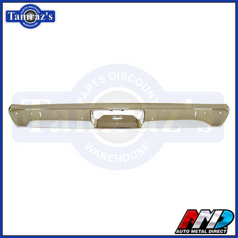 71-72 Plymouth Duster Rear Bumper With Jack Slots Triple Chrome Plated AMD New