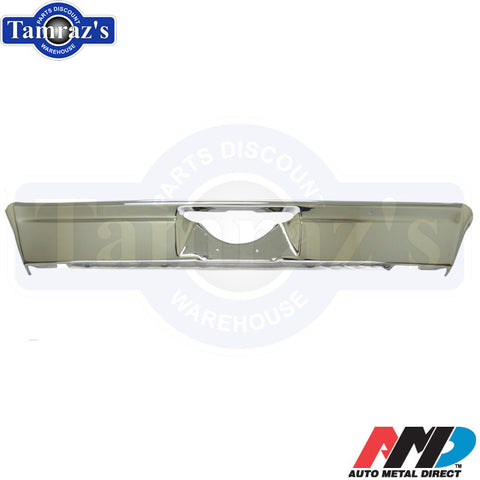 68-72 Nova Chrome Rear Bumper Chrome New Tooling AMD