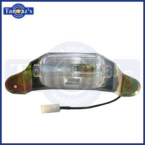62 63 64 1965 Chevy II Nova License Plate Lamp Assembly