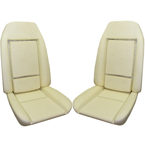 78-81 Firebird Deluxe Int. Front Bucket Seat Bun Foam Cushion w/ wire PUI PAIR