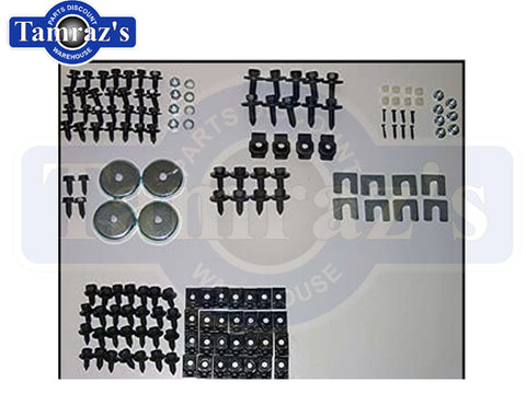 68-74 Chevy II Nova Front End Sheet Metal Assembly Bolt Fastener Hardware Kit