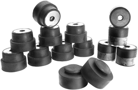 68-72 GM A-Body Convertible Rubber Frame to Body Mount Bushing Set Dynacorn