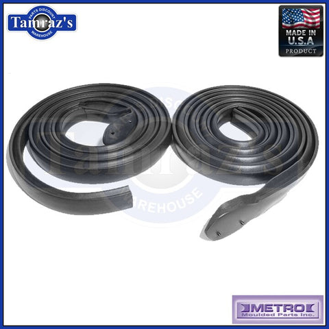 71-73 GM B Body Roof Rail Roof Rail Weatherstrip Seal 2 Dr Htop RR5007A USA MADE