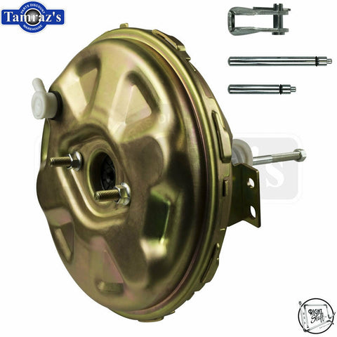 "67-72 A / F / X Body Delco STYLE 11"" Brake Vacuum Booster Gold Cadmium Plated"