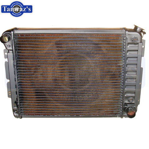"67-69 GM F Body 4 core 21"" Radiator Automatic Transmission New"