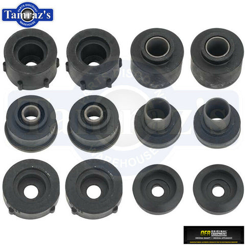 1977-1979 Nova Body Mount Sub-Frame Subframe Bushing Kit OER New