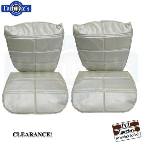 1971 Grand Prix Front Bucket Seat Covers Upholstery CLEARANCE PEARL PUI New