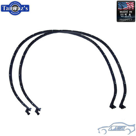 64-5 GM A Body Door Weatherstrip Seals 2 Door Hardtop Convertible 5004 SoffSeal