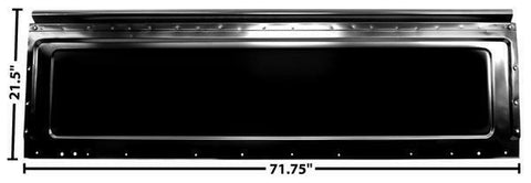 73-87 Chevy C/K Series Pick Up Truck Front Bed Panel (at Rear Window / Cab) Dii