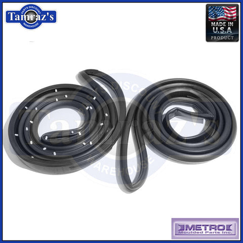 77-86 GM B  Body Door Weatherstrip Seals Front 4 Dr Sedan Wagon LM18LWC USA MADE