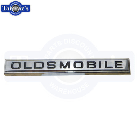 "1967 Cutlass - Cutlass Supreme Grille Grill Bar ""Oldsmobile"" Bar Script Emblem"