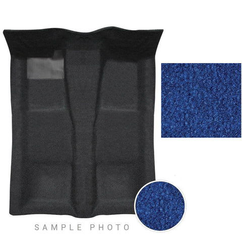 1984-1988 Pontiac Fiero Carpet 1 Piece Cut Pile 812 Royal Blue 2 Door models New