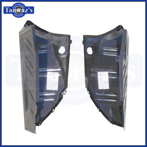 1970-1974 Challenger Trunk Floor to Quarter Panel Extension / Drop Off - PAIR