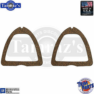 53 Bel Air Upper Taillight Tail Light Lamp Lens GASKET ONLY PAIR Made in the USA