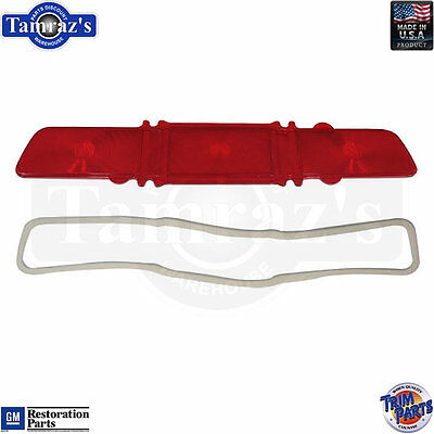1967 Caprice Taillight Tail Light Lamp Lens with Gasket USA Made - RH
