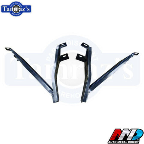 1968 1969 Roadrunner Satellite GTX Front Bumper Brackets AMD PAIR NEW