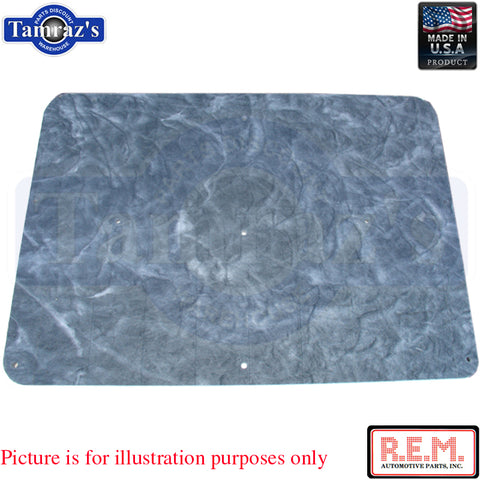 "78-80 Regal Under Hood Insulation Pad  1"" Thick - NEW REM USA MADE"