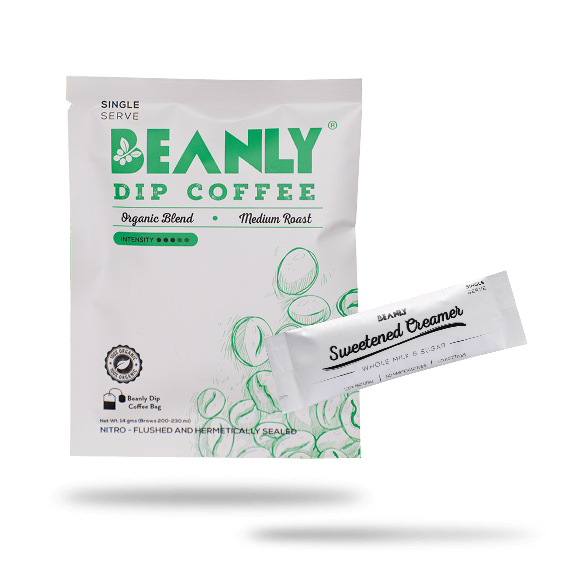 Organic Blend Dip Coffee Pack of 30 - Beanly