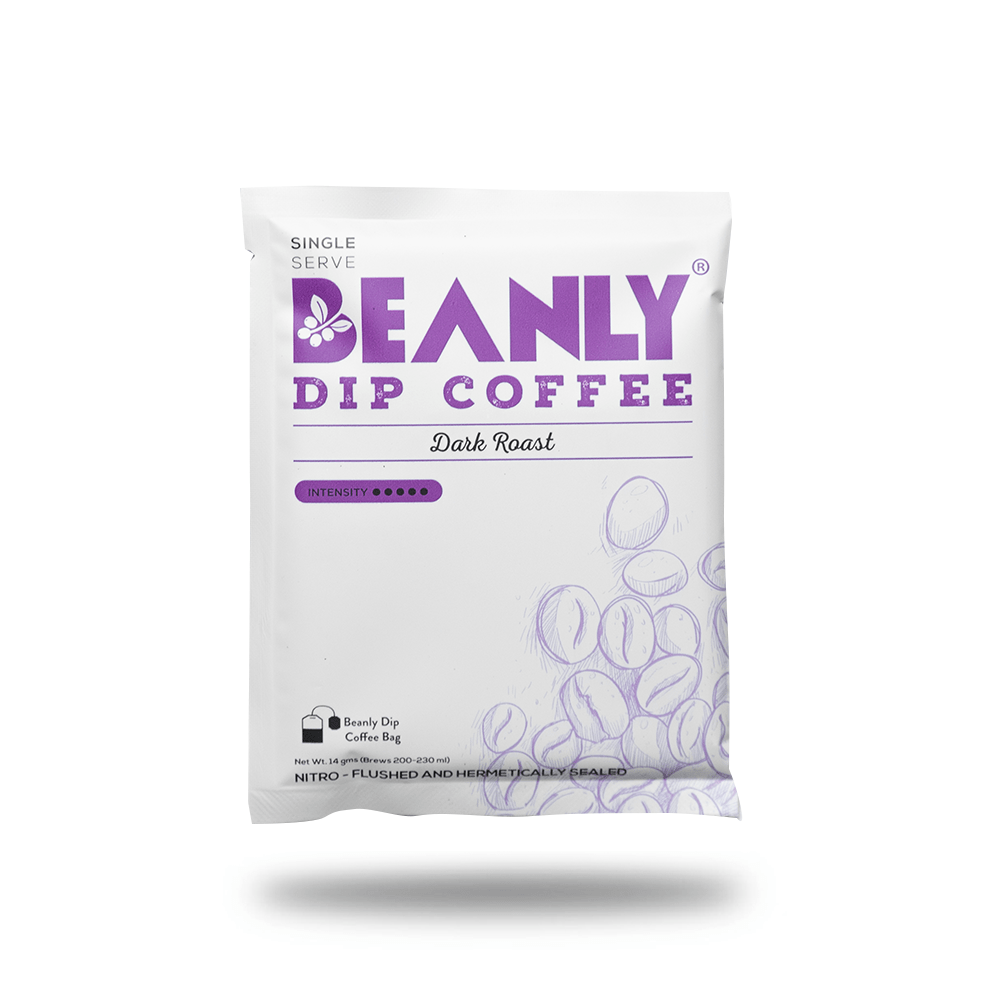 Dark Roast Dip Coffee Pack of 30 - Beanly
