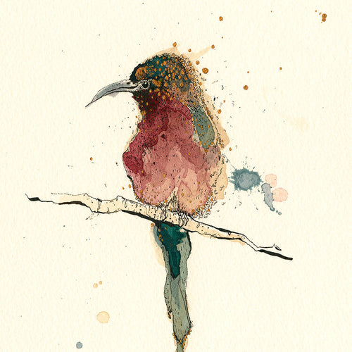 Bee Eater Small Signed Print