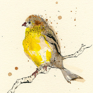 Goldfinch Small Signed Print