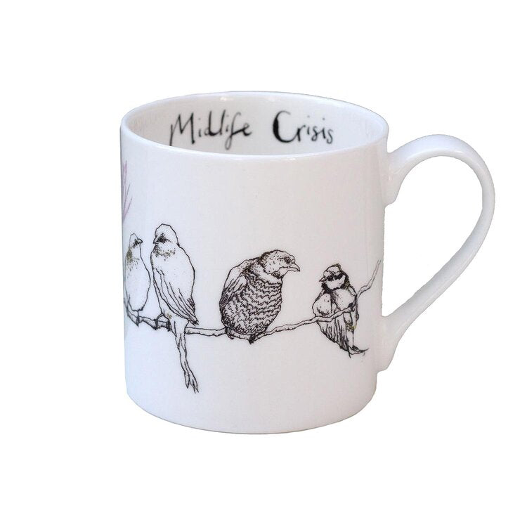 Midlife Crisis Fine Bone China Mug