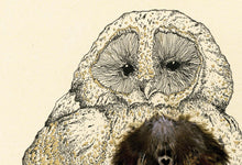 "Load image into Gallery viewer, ""Owlie"" Small Signed Print"