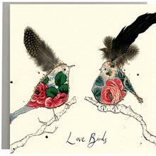 Load image into Gallery viewer, Love Birds Greeting Card