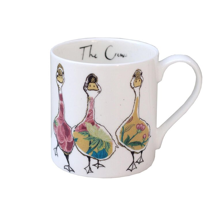 The Crew  Fine Bone China Mug