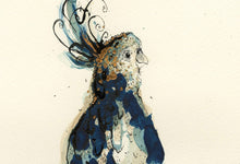 "Load image into Gallery viewer, ""Blue Cockatoo"" Small Signed Print"