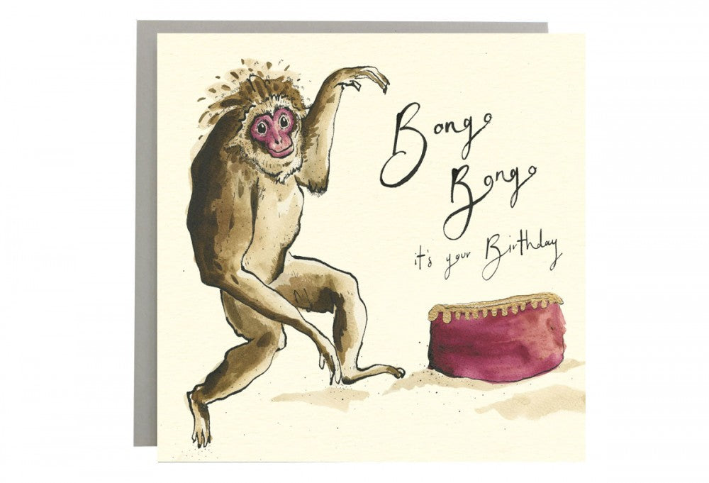 Bongo Bongo It's Your Birthday Greeting Card