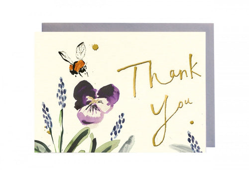 Thank You Bee Greeting Card