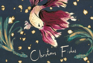 Christmas Fishes Greeting Card