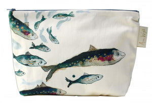 Fishy Friends Make Up Bag