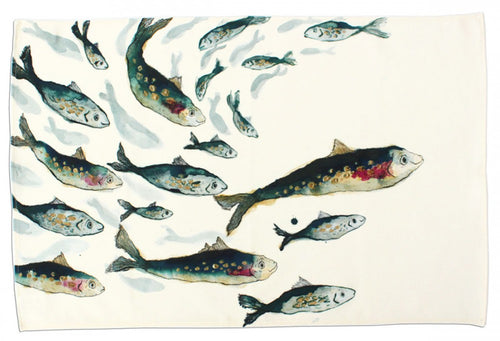 Fishy Friends Tea Towel