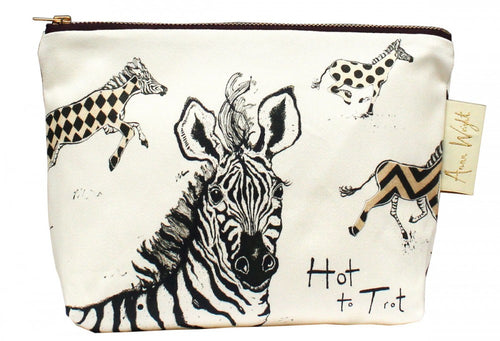 Hot to Trot Make Up Bag